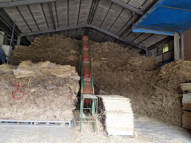 今年の稲わら集めが一段落しました。