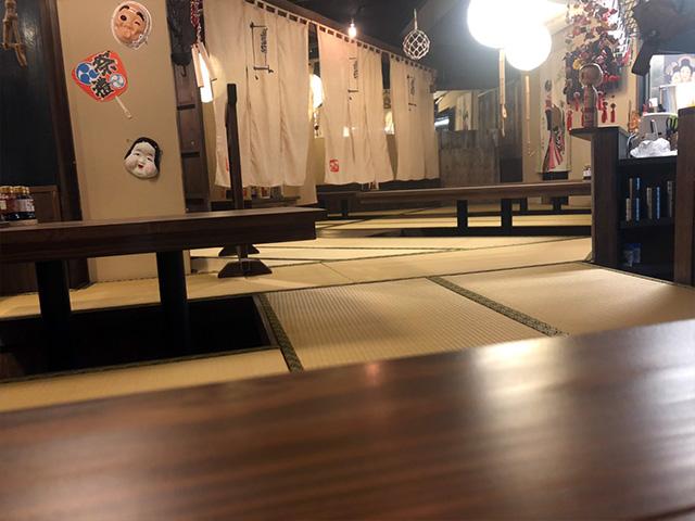 中央駅 近くの居酒屋さんの畳工事