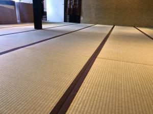 奄美大島の観光施設の畳