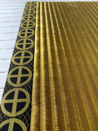 薩摩の黄金畳を制作させていただきました。